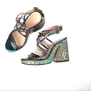 Zara Block Heel